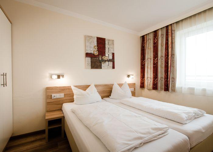 Modern & gemütlich - Doppelzimmer XL ©Aparthotel Dorfplatzl