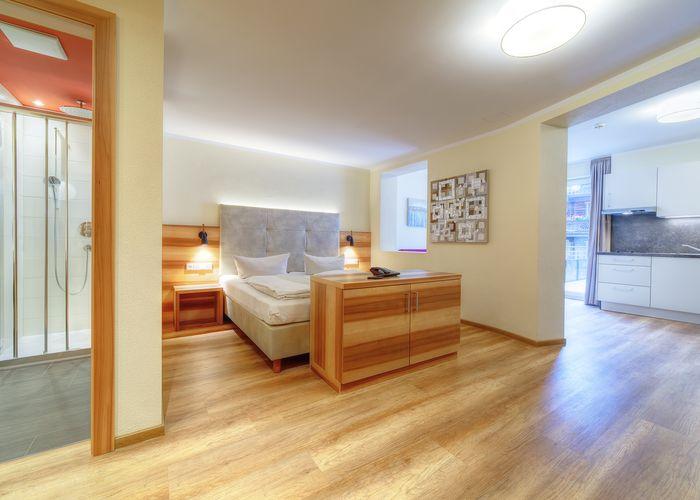 Doppelzimmer XL für mehr Urlaub ©Aparthotel Dorfplatzl