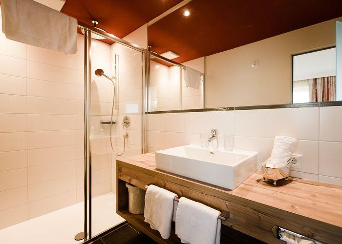 Badeoase - Doppelzimmer ©Aparthotel Dorfplatzl
