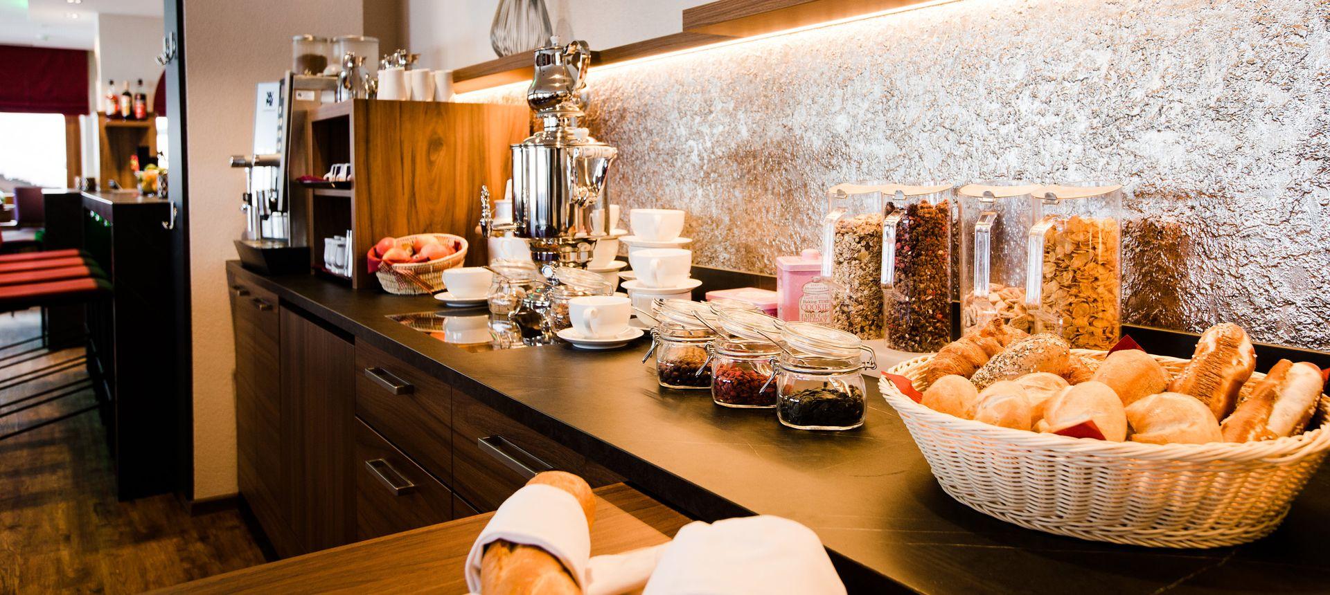 Frühstücksbuffet ©Aparthotel Dorfplatzl