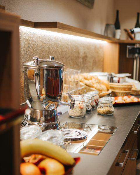 Köstliches Frühstücksbuffet ©Aparthotel Dorfplatzl