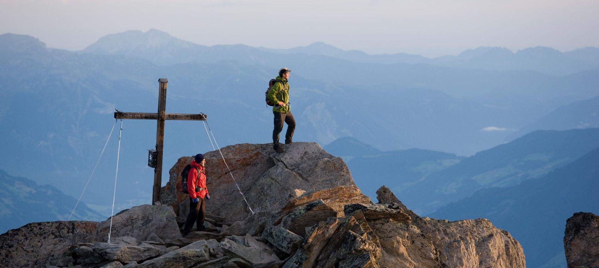 Archiv TVB Mayrhofen-Hippach: Bergsteigen ©Bernd Ritschel