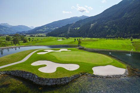 TVB Fügen-Kaltenbach: Golfplatz Zillertal Uderns 3 ©Paul Severn